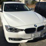 BMW鉄粉飛散事故の復元施工前 (1)