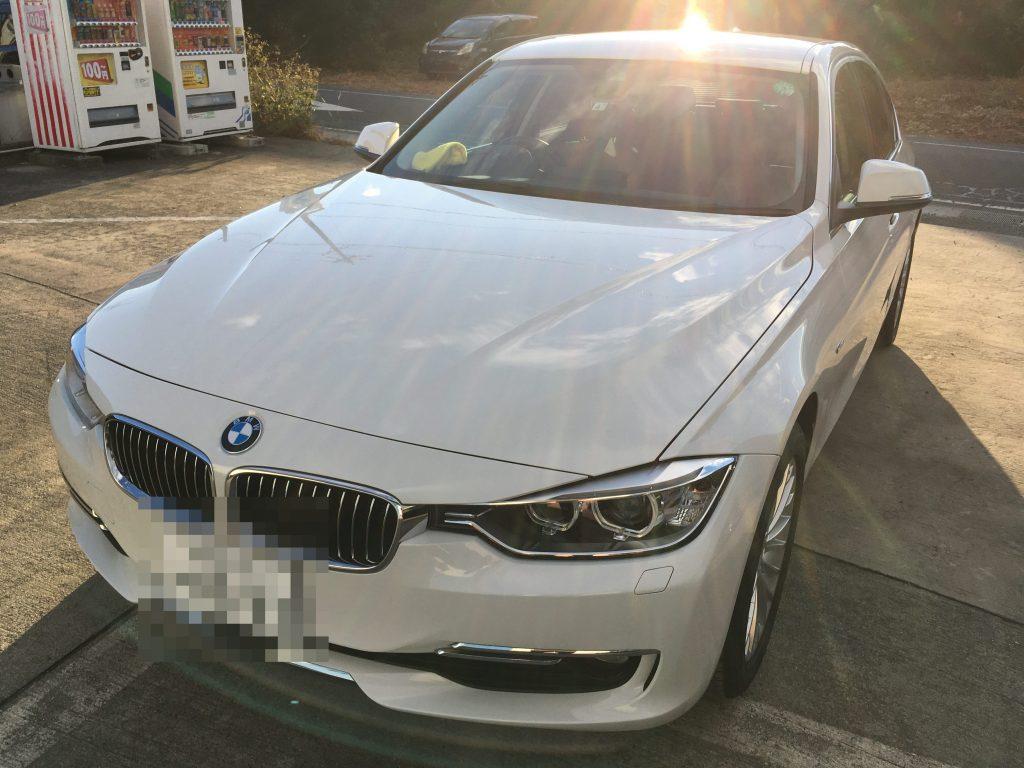 BMW鉄粉飛散事故の復元施工後 (2)